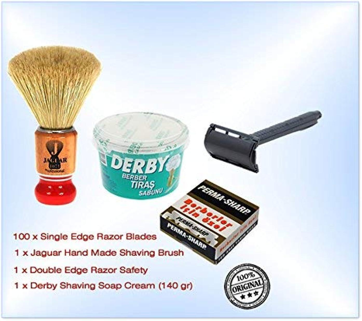 ビジュアル異形試みShaving Factory Shaving Factory Shaving Brush - Large [並行輸入品]