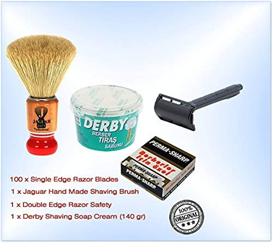 谷複数秀でるShaving Factory Shaving Factory Shaving Brush - Large [並行輸入品]