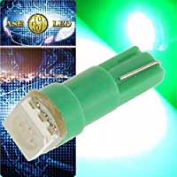 LEDバルブT5グリーン1個 3chip内蔵SMDメーター球 as10198
