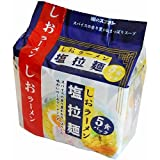 スナオシ 塩拉麺 5食パック×6個