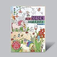 Mein Riesen-Ausmalbuch - Im Feenland: (Super-Giga-Ausmalposter inkl. Sticker zum Verzieren)