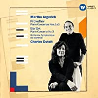 Prokofiev & Bartok: Piano Concertos by Martha Argerich (2014-07-16)