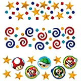 Super Mario Brothers Birthday Party Confetti Mix Value Pack Decorations Foil 1 2 Ounces [並行輸入品]