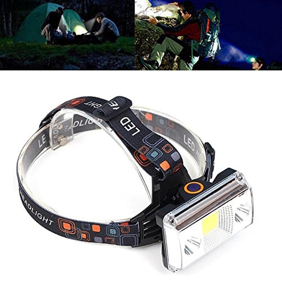 支援する重くする闘争RaiFu ヘッドランプ 10000ルーメン USB充電式 ヘッドライト 戦術4モード 自転車 懐中電灯 狩猟 ヘッドライト