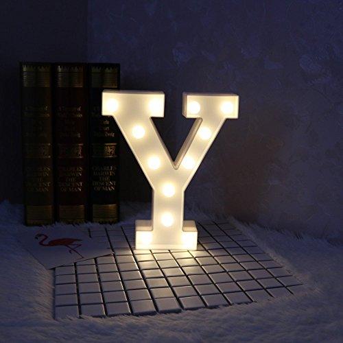 LED イルミネーション イニシャルライト アルファベットライト ホームイベント インテリア ギフト Y