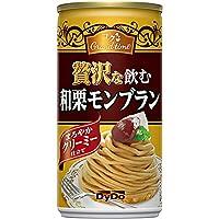ダイドー コクグランタイム 贅沢な飲む和栗モンブラン 185g缶×30本入