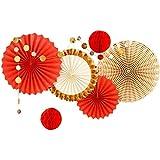 和風 デコレーションセット耐久性が強い上に軽く高品質飾り 装飾 紅