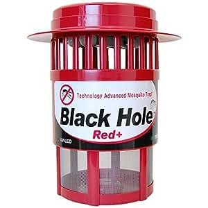 【酸化チタン光触媒技術蚊取り器】ブラックホールRed+