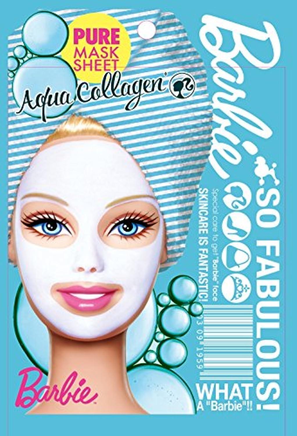 蒸発同等の文明化するバービー ピュアマスクシートN AQ(アクアコラーゲン)《25ml》