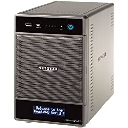NETGEAR Inc. ReadyNAS Ultra4 【3年標準保証】デスクトップ型ネットワークストレージ ベアボーン RNDU4000-100JPS