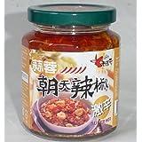 ロウバ 朝天 ニンニク入り辛味調味料(大) 240g