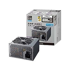 玄人志向 STANDARDシリーズ 80 PLUS 400W ATX電源 KRPW-L5-400W/80+