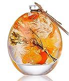 ハーバリウム (植物標本) Mサイズ (オレンジ)