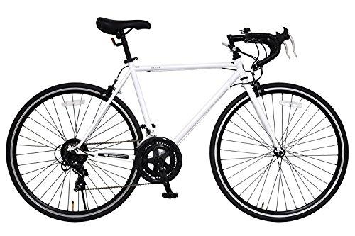 ANIMATO(アニマート) ロードバイク DEUCE (デュース) 700C ホワイト シマノ14段変速 A-14