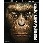 猿の惑星 創世記+猿の惑星(1967) ブルーレイパック〔初回生産限定〕 [Blu-ray]