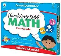 キッズ数学カード、グレード1のレベルを考えるカーソン-Dellosa 140077 CenterSOLUTIONS