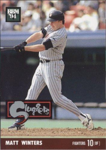 BBM1994 ベースボールカード スラッガーカード No.SL20 ウインタース