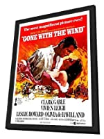 Gone With The Wind–27x 40ムービーポスターフレーム付き