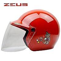子供用ヘルメット 3/4ヘルメット ヘルメット ジェット 春 夏 秋 冬 バイク用 バイクヘルメット PSC付き JET-208[A02/FR]