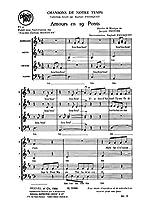 Jacques Provins: Amour En 19 Ponts (SATB) (Passaquet). For 混声四部合唱(SATB)