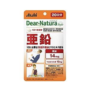 アサヒグループ食品 ディアナチュラスタイル 亜鉛 20粒(20日分)