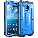 Samsung Galaxy S5 Active Case SUPCASE Unicorn Beetle PRO 衝撃吸収 全面保護 防塵 ハイブリッド ハードケース (Blue)