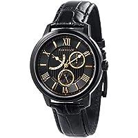 Thomas Earnshaw Men's ES-8060-05 Year-Round Analog Quartz Black Band Watch