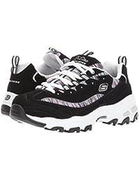 [SKECHERS(スケッチャーズ)] レディーススニーカー?ウォーキングシューズ?靴 D'Lites Interlude Black Multi 5 (22cm) B - Medium