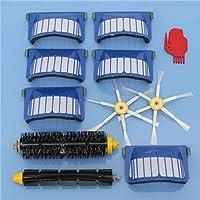 Sndy 11pcs 掃除機アクセサリーキットフィルターとブラシアイロボットルンバ600シリーズ