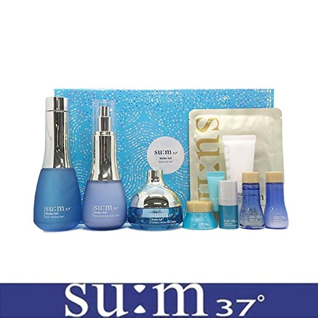 書き出す分数仲間[su:m37/スム37°] SUM37 Water full 3pcs Special Skincare Set/sum37 スム37 ウォーターフル 3種企画セット+[Sample Gift](海外直送品)