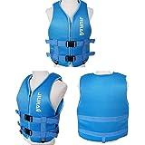 JUZIPI Life Jackets,Swim Vest for Adult/Children,Adjustable Safety Swimming Float Jacket Buoyancy Aids for Kayaking, Snorkell
