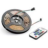 マジック LEDテープライト 5M 光が流れる RGB 300leds リモコン操作 SMD5050 LEDテープ 間接照明