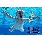 ニルヴァーナ/カートコバーン / NIRVANA/KURT COBAIN Nevermind / ポスター 【公式商品 / オフィシャル】