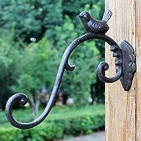 小さな鳥 鋳鉄工芸 錬鉄フック ヨーロピアンクラシカル ノスタルジック 風 庭 壁掛け ブルーフック 壁掛け 装飾フック