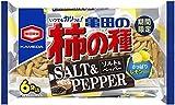 亀田製菓 亀田の柿の種 ソルト&ペッパー 182g×6袋