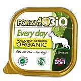 FORZA10 犬用缶詰 100%オーガニック エブリデイビオ チキン 100g フォルツァ10