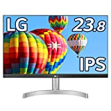 LG フレームレス モニター ディスプレイ 24ML600S-W 23.8インチ/フルHD/IPS 非光沢/1ms(MBR)/スピーカー/HDMI×2,D-sub/FreeSync/フリッカーセーフ、ブルーライト低減機能