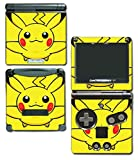 OMEGA Pikachu Special Edition X Y Omega Ruby Alpha Sapphire Black and White Video Game Vinyl Decal Skin Sticker Cover for Nintendo GBA SP Gameboy Advance System by Vinyl Skin Designs [並行輸入品]