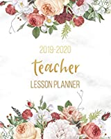 Teacher Lesson Planner 2019-2020: Academic Teacher Planner Checklist Notebook Diary Organizer   Calendar August 19 - July 20   Record 7 Subject Teacher Planner, Lesson Planner, Monthly, Weekly and Daily Personalised
