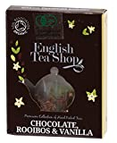 Amazon.co.jpイングリッシュティーショップ チョコレート・ルイボス&バニラ ティーバッグ1袋入り CHOCOLATE,ROOIBOS & VANILLA 1袋入りミニペーパーボックス