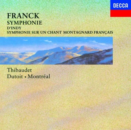 フランク:交響曲/ダンディ:フランス山人の歌による交響曲