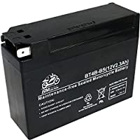 BM バイク用 バッテリー 液入り 充電済み BT4B-BS ( GT4B-5 / YT4B-5 / YT4B-BS 互換 )