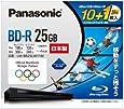 パナソニック 録画用4倍速BD(追記型)25GB10枚+50GB 1枚