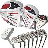 ワールドイーグル5Z メンズ ゴルフ クラブ フルセット ホワイト 右用 フレックスSWE-5Z-WH-S-W/O