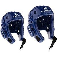 Fenteer M / L 2個入り ヘッドギア ヘルメット EVA製 超耐久性 帽子 怪我防止 頭保護 MMA 武道 ボクシング