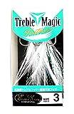 エバーグリーン(EVERGREEN) トレブルマジック フェザー #3 ホワイト.
