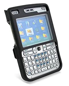 PDair アルミケース for Nokia E61(ブラック) PAACNKE61/BL