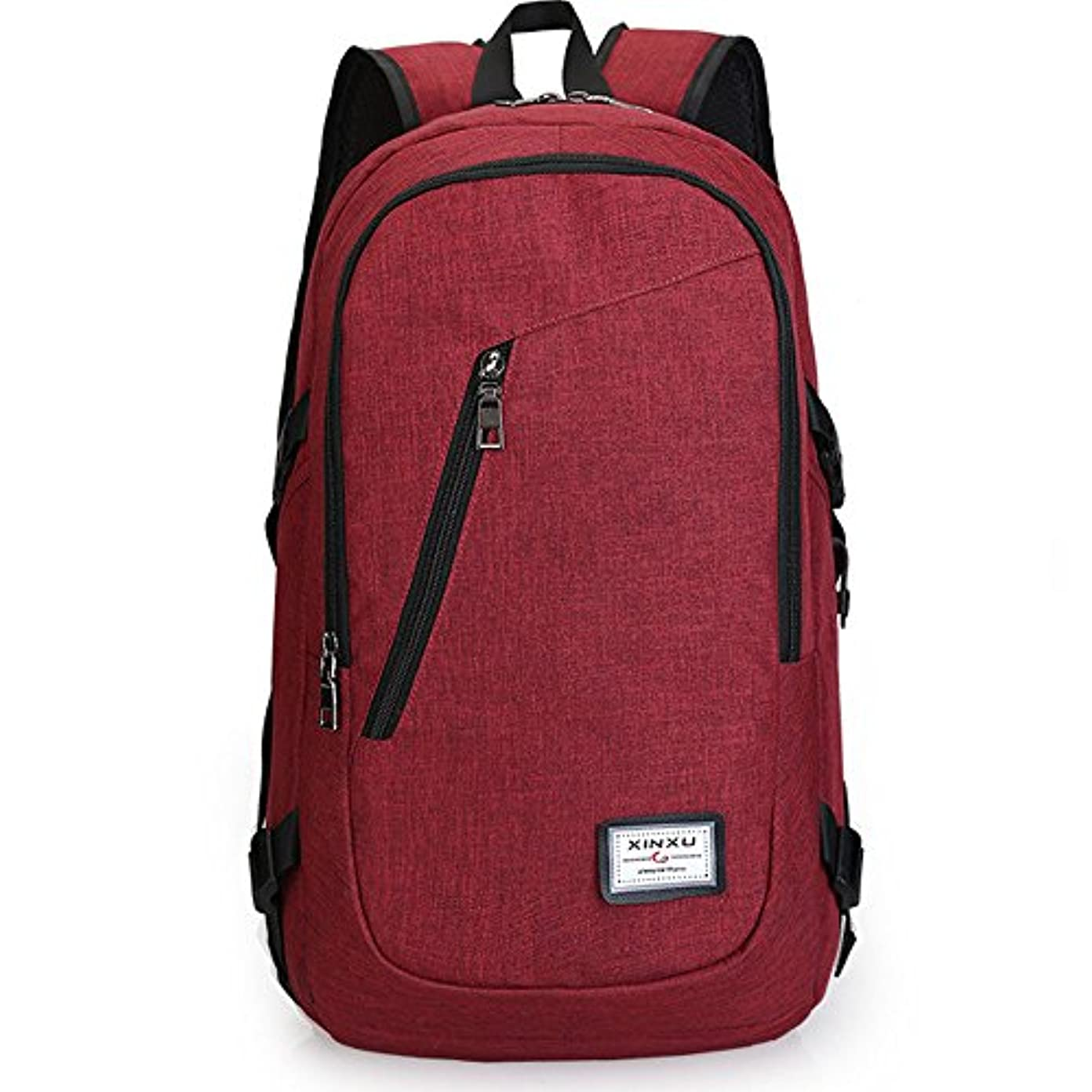 ワーディアンケース土器研究14 inch Laptop Computer Backpack with USB Charging Port Travel Daypack School College Bag for Men and Women