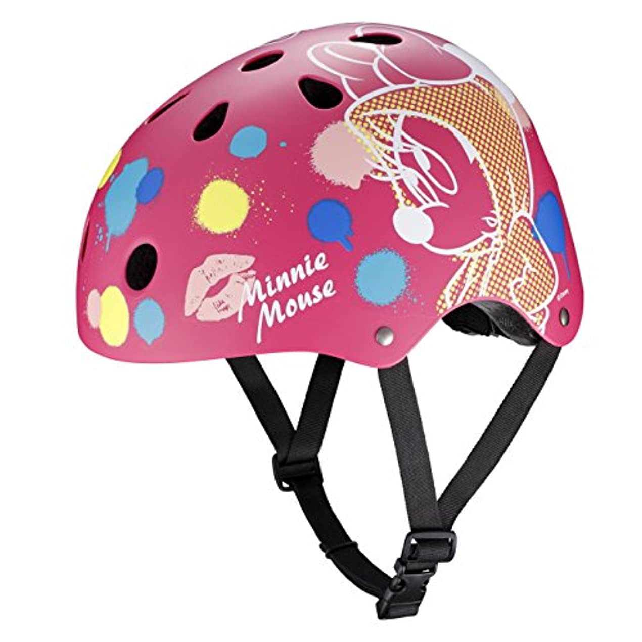 設置汚染教えるストリートヘルメット ミニーマウス