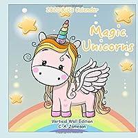 2020 Kid's Calendar: Magic Unicorns Vertical Wall Edition
